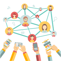 اجرا و پشتیبانی بازاریابی شبکه های اجتماعی