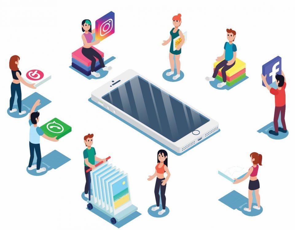 شبکه های اجتماعی و تاثیر آن بر استراتژی بازاریابی